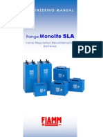 Fiamm SLA Range Engineering Manual