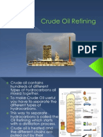 Crude Oil Extraction and Refining