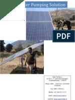 Solar Pump Catalog