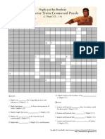 Nephi and His Brothers Character Traits Crossword Puzzle