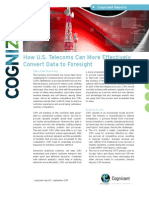 How U.S. Telecoms Can More Effectively Convert Data to Foresight
