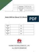 Nastar GSM User Manual