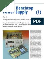 Digital Benchtop Power Supply Part 1