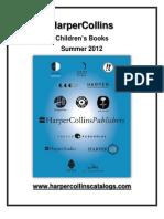 Summer12 HarperCollins Childrens Catalogue