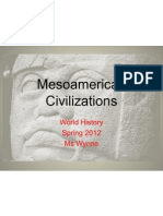 mesoamerican civilizations overview