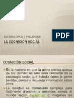 LA COGNICIÓN SOCIAL