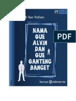61138613 Nama Gue Alvin Dan Gue Ganteng Banget