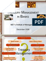 Treasury Mgmt in Banks