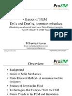 Basics of FEM