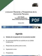 Evolución reciente y perspectivas de la economía peruana (2011) - BCR