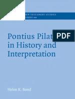 Bond Pontius Pilate