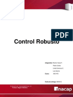 Control Robusto y Sus Aplicaciones