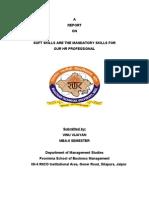 Report on Soft Skills 2