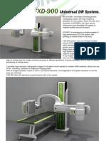FXD-900 DR Brochure