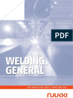 Ruukki Hot Rolled Steels Processing of Material Welding
