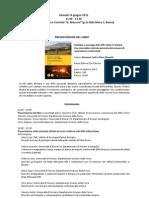 Presentazione Libro 14 Giugno 2012