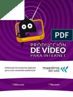 Produccion de Video para Internet