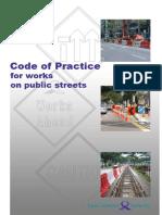 COP for Works on Public Streets_Mar09Edrev1