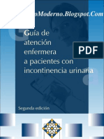 Guia de Atencion Enfermera a Pctes Con Incontinencia Urinaria