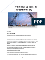 Price Hike 21 Percent Nsw 2012:Carbon Tax's supply side push