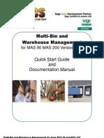 WH Multi-Bin Manual 440