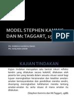Model Stephen Kammis Dan Mc Taggart, 1988