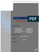 Assignment Leasing