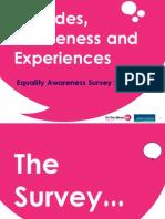 Attitudes, Awareness and Experiences