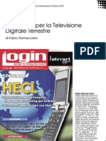 iTV Format per la Televisione Digitale Terrestre