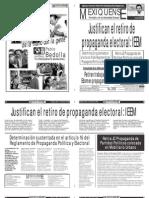 Versión impresa del periódico El mexiquense 13 junio 2012
