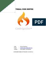 Tutorial Code Igniter