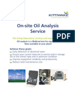 On-Site Oil Analysis Service