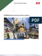 DSI DYWIDAG Sistema de Pretensado Con Barra Sp