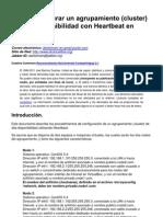 Alcance Libre - Cómo configurar un agrupamiento (cluster) de alta disponibilidad con Heartbeat en CentOS 5