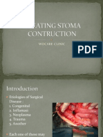 Creating Stoma Contruction Ok