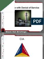 BlackHat DC 2011 Brennan Denial Service-Slides
