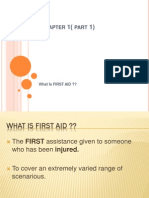 First Aid Chapter 1( Part 1)