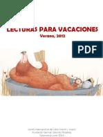 Lecturas Verano 2012