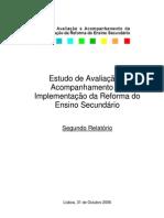 gaaires [isabel duarte et al] 2006_estudo de avaliação e acompanhamento da implementação da reforma do ensino secundário, segundo relatório