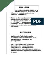 Formular Formulas Polinomicas