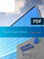 Johnson Control-Saudi Capabilities