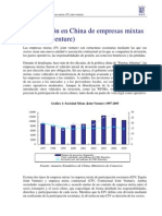 Joint Venture Empresas Mixtas China