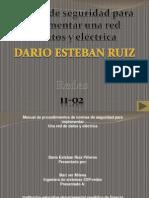 Manual de Normas de Seguridad Para La Implementar Una Red de Datos y Electrica
