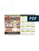 calendario laboral 2009