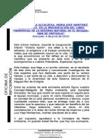 PRESENTACIÓN LIBRO MARIPOSAS EL REGAJAL