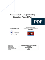 Peace Corps Community Health Project Plan | 2008