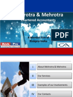 Profile of Mehrotra Mehrotra