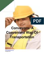 Timingbelt Conveyors