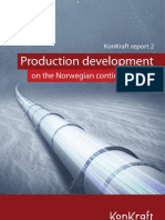 Production Development on the Norwegian Continental Shelf
