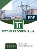 Tectubi Raccordi Nuclear Ref List